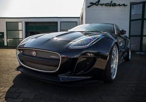 arden aj 23 race cat jaguar f type auto reise creative. Black Bedroom Furniture Sets. Home Design Ideas