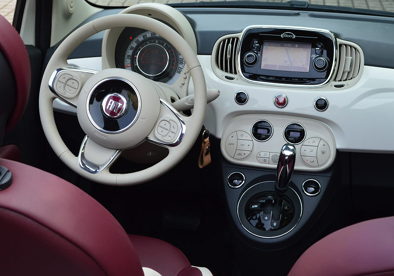 Fiat 500 to be continued inkl video auto reise for Fiat 500 l interieur
