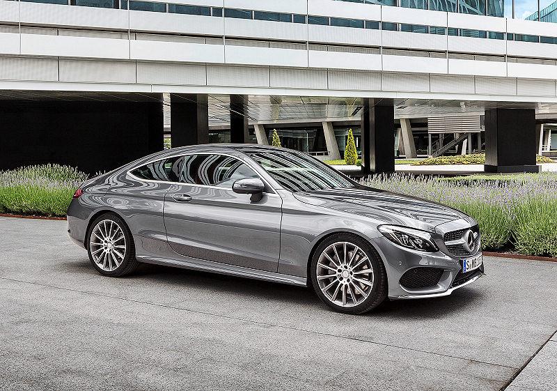 Neues Mercedes C-Klasse Coupé | auto-reise-creative
