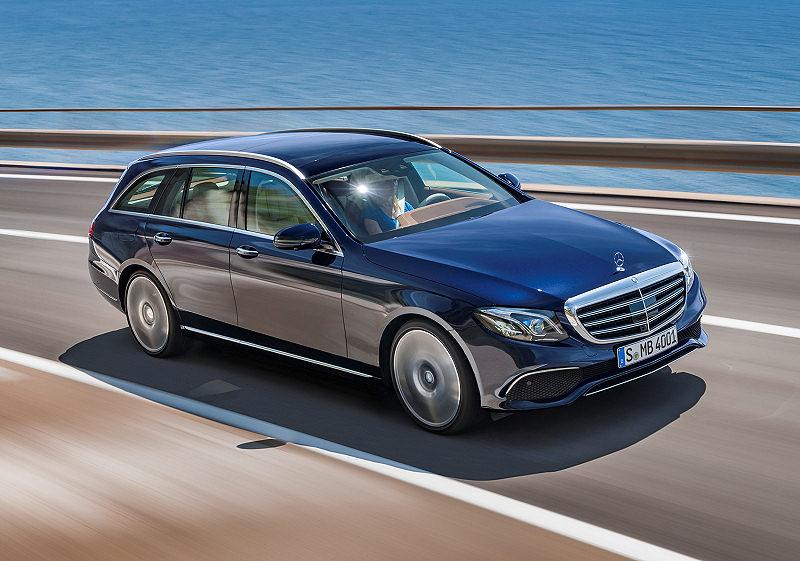 Mercedes Benz E Klasse T Modell Auto Reise Creative