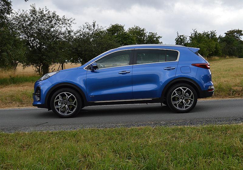 Kia Sportage Modelljahr 2019 Auto Reise Creative