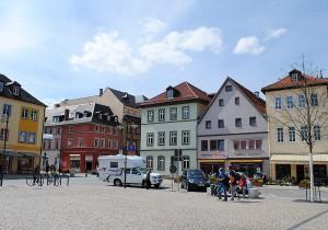02_Saalfeld Marktplatz